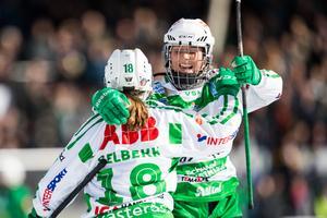 VSK dam möter AIK i semifinalen på lördag hemma i Västerås. VLT sänder den matchen samt söndagens final eller bronsmatch. Foto: Tobias Sterner / BILDBYRÅN