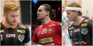 Oscar Janthe, Valdemar Ahlroth och Linus Dahlström – tre av profilerna som fostrats i Nykvarns IF.