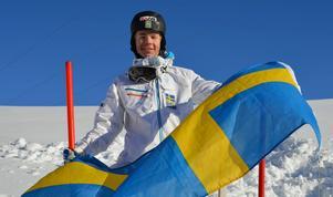 Walter Wallberg är klar för OS. Foto: Roland Olsen.