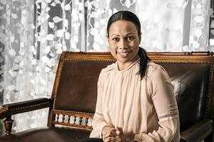Mer kultur och mer konst i landet - det är kultur- och demokratiminister Alice Bah Kuhnkes ideal. På sin resa i Västernorrland under torsdag och fredag hann hon stanna till för en intervju på Sundsvalls Tidnings redaktion.