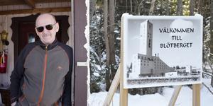 Reijo Pakola bor i Blötberget och har arbetat som gruvarbetare i 30 år. Han välkomnar planerna på att öppna gruvan igen.