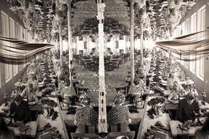 Textilarbeterskor i  Borås.. Ur Kristina Müntzings verk
