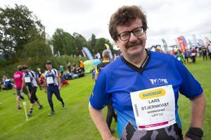 Kommunalrådet i Norrköping, Lars Stjernkvist (S), när han deltog i orienteringstävlingen O-Ringen i Östergötland 2019. Foto: Fredrik Persson / TT.