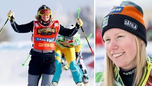 Sandra Näslund. Bilder: TT Nyhetsbyrån.