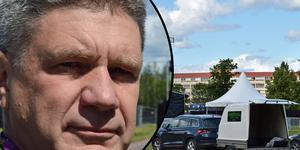 Per-Arne Lundqvist vill ha en trygg festival.