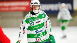 VSK:s  Martin Landström har stått för två mål så här långt i turneringen. Bild: Andreas Tagg.