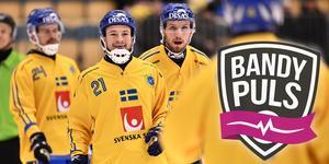 Christoffer Edlund och Simon Jansson är två av spelarna som är uttagna till helgens samling i Finland. Se hela truppen längre ner i artikeln.