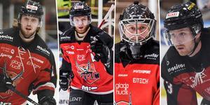 Erik Flood, Henric Nordin, Magnus Åkerlund och Simon Löf.