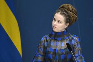 Kultur- och demokratiminister Amanda Lind (MP).