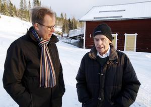 Olov Amelin och Folke Bogh bestämde på stående fot att de bägge skulle ha ett nytt möte framåt våren, för att fortsätta diskutera museiplanerna.