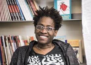 Jacqueline Woodson är tillbaka med en berättelse om kärlek, rasism och polisvåld. Foto: Lars Pehrson/TT