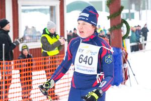 Kristina Lycke bärgade segern i damklassen.