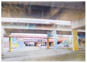 Både den internationellt kände färgsättaren Fritz Fuchs och konstnären Sten Granlund är Järnabor. De har skissat fram idéer på hur betongen under broarna i Södra kan få liv.