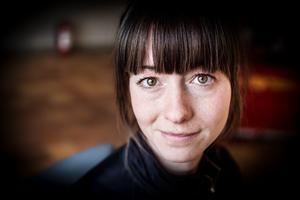 Mikaela Warberg är brandingenjör på Räddningtjänsten Dala Mitt.