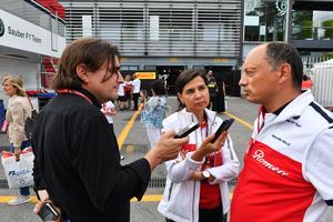 Frédéric Vasseur, teamchef i Sauber, har börjat leta efter ännu en reservförare vid sidan om Marcus Ericsson. Foto: Sauber Motorsport
