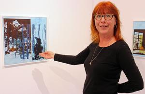 Ingela Bauer visar sin nya utställning
