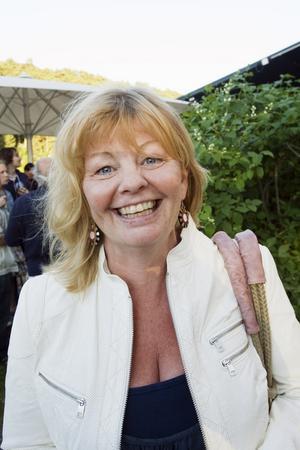 Inger Nilsson besöker sommarteatern i Hebbevillan, Södertälje 2010.