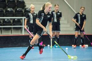 Wilma Lindholm är övertygad om att Örnsköldsvik vinner mot Strömsbro.Bild: Adam Göransson