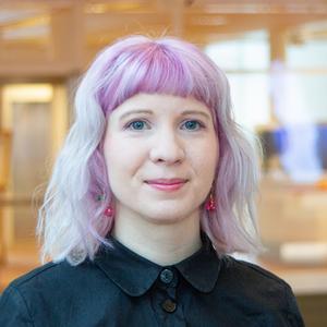 Cajsa Abrahamsson är projektledare för vindkraftsområdet