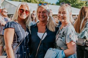 Malin, Åsa och Sofia.