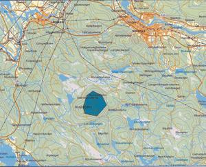 Här på Rödstahöjden utanför Sollefteå planeras sex vindkraftverk i ett område med höga naturvården.