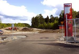 Etablering. Området Östra Blå Hallen vid Ica Maxi på regementsområdet, kan komma att bli nästa stora etableringsområde i Falun för volymhandel.