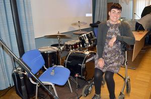Matilda Thuresson kom in på den eftertraktade musikutbildningen på Brunnsviks folkhögskola helt på egna meriter.
