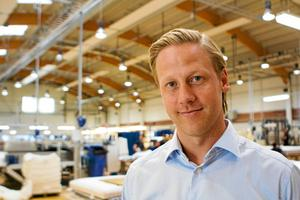 Mattias Bergdhal, nummer 12 på listan har klättrat 41 placeringar och är production manager på Hästens sängar.