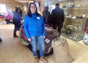 Olivia Söderlund var väldigt nöjd med uppslutningen under öppningsdagen.
