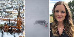 Snö och kyla är på ingång, menar meteorologen Tora Tomasdottir.