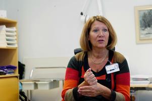 Primärvårdsdirektör Anna-Lena Lundberg känner ingen större oro för att den höga vakansgraden bland primärvårdens läkare ska ökar risken att man får in hyrläkare av dålig kvalitet.Bild: Jennie Sundberg