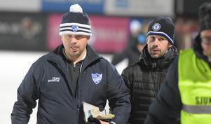 Peter Törnberg, till vänster, i IFK Rättvik-mössa och Pär Törnberg – i Chelsea-mössa.