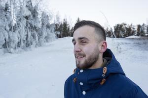 Adam Silverlid är platschef i Sörbybacken.