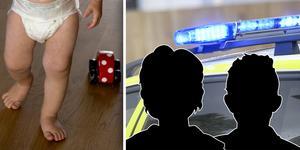 Paret åtalas för olaga frihetsberövande av två minderåriga barn i början av året.