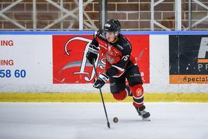 Albin Runesson kom till HHC från Vimmerby inför den här säsongen.