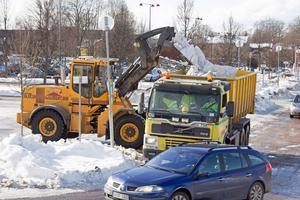 Röjningen och bortforslingen av snön spräckte hela årets vinterbudget.