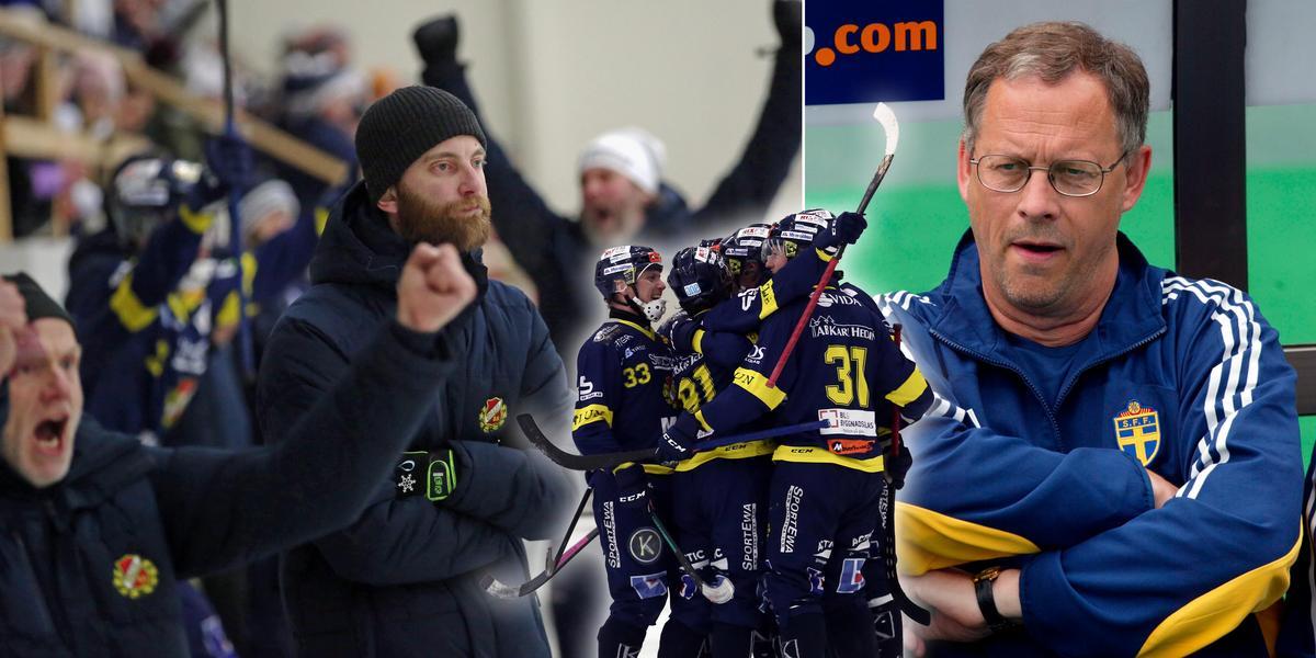 """Här gör BS-tränaren en Lagerbäck – mitt i målvrålet: """"Måste hålla sig kall"""""""