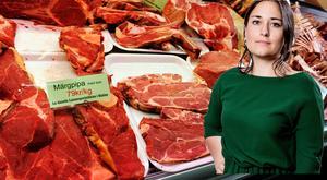 Den utländska köttkonsumtionen minskar och allt fler handlar svenskt och närodlat. DT:s ledarskribent Emma Høen Bustos menar att lantbrukare till stor del har vegetarianer att tacka för utvecklingen.