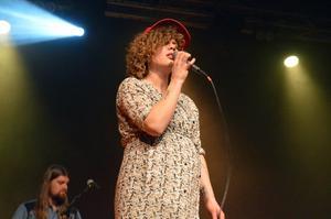 Amanda Bergman blev utsedd till Årets artist på Dalecarlia Music Awards 2017.