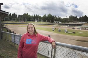 Linda Fogelström har koll på det mesta när det kommer till lördagens GP-tävling och hon känner ett lugn inför vad som väntar.