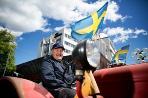 Traktorcruising blir en av aktiviteterna under Borlängedagarna. Hans-Erik Alsterlund  kommer delta med sin 1957 års Volvo Viktor.