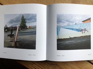 Ett uppslag ur José Figueroas fotobok. Foto: Göran Greider.