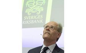 Riksbankschefen Stefan Ingves. Foto: MAJA SUSLIN / TT