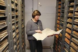 I lantmäteriets arkiv i Härnösand finns kartor från hela länet.