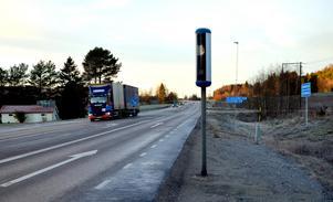 Tre nya fartkameror sätts upp på E14 mellan Stöde och Nedansjö.