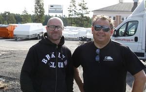 Mikael Jakobsson och Patrik Lundman är två ur kvartetten som tagit över Sörberge husvagnar och planerna för framtiden är många.