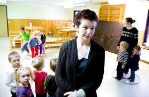 Barnskötare Ann-Marie Nätz på Torsångs förskola hoppas att planerna på renovering nu blir av.