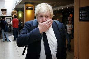 Boris Johnson, utrikesminister.