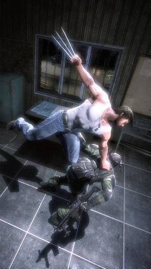 I filmerna är det Hugh Jackman som spelar Wolverine. I spelet gör han röstskådespeleriet, men förlagan som filmades och fotades i Ravens motion capture studio var Jackmans officiella look-a-like. Det ser ut att ha fungerat ganska bra det också.