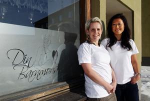 Din Barnmorska öppnade i centrala Sundsvall den första februari. Eva Larsson och Kajsa Lindqvist satsar på personlig och hemtrevlig miljö.